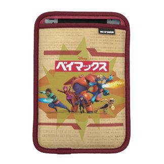 Héroe grande 6 Superheros Funda De iPad Mini