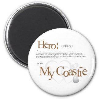 Héroe Imán Redondo 5 Cm