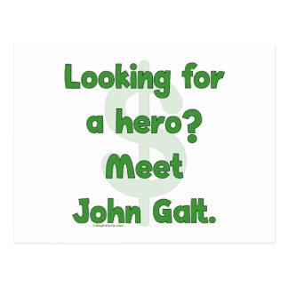 Héroe Juan Galt Postales