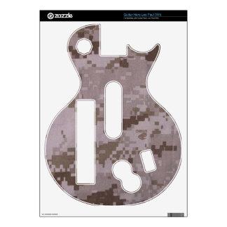 Héroe Les Paul (Wii) de la guitarra del Corp marin Calcomanía Para Guitar Hero
