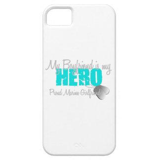 Héroe marino de la novia iPhone 5 fundas