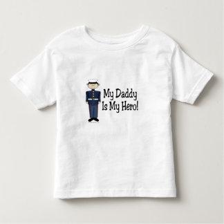 Héroe marino del papá playeras