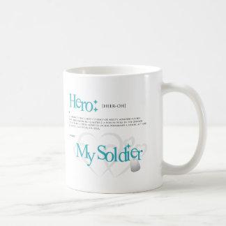 Héroe: Mi soldado Taza Clásica