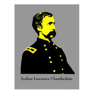 Héroe militar - J.L. Chamberlain Postales