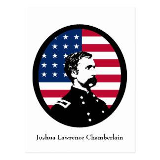 Héroe militar - Joshua L. Chamberlain Tarjeta Postal