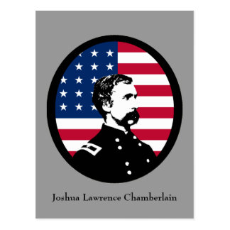 Héroe militar - Joshua L. Chamberlain Postal