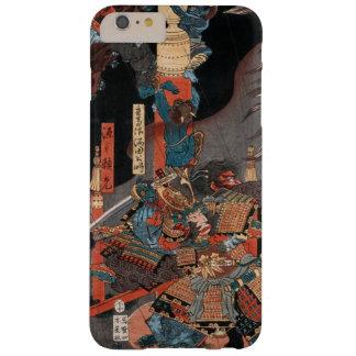 Héroe Minamoto del samurai ningún Yorimitsu Funda De iPhone 6 Plus Barely There