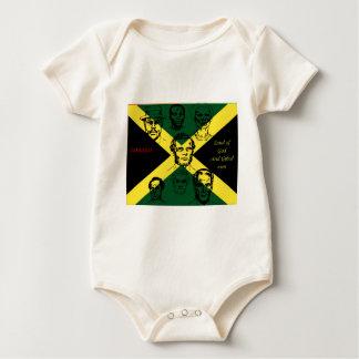 héroe nacional de Jamaica Body Para Bebé