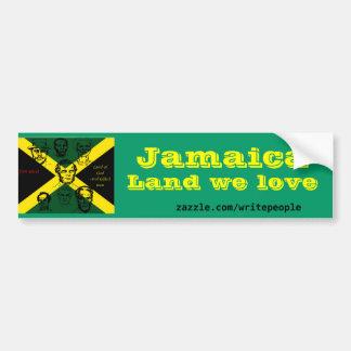 héroe nacional de Jamaica Pegatina Para Auto