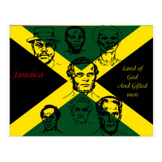héroe nacional de Jamaica Postal