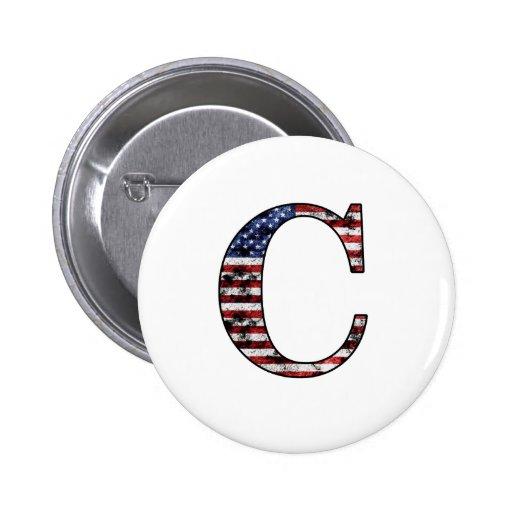 Héroe patriótico C Pin