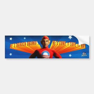 Héroe - Sitcker de parachoques Pegatina Para Auto