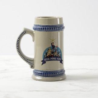 Héroe Stein de Pong de la cerveza Tazas De Café