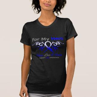 Héroe tribal de la cinta de la enfermedad del ALS Camiseta