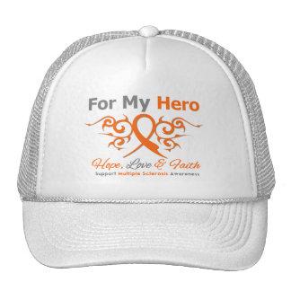 Héroe tribal de la cinta de la esclerosis múltiple gorros