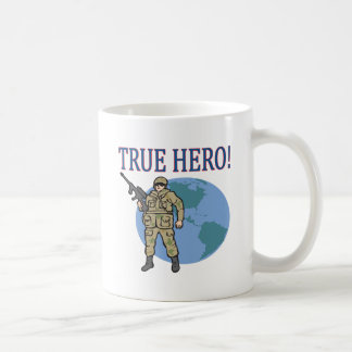 Héroe verdadero tazas