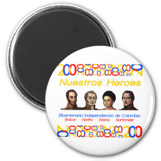 Heroes 2 Inch Round Magnet