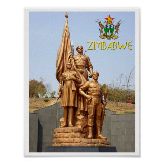 Heroes Acre, Harare - Zimbabwe Poster