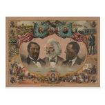 Héroes afroamericanos tempranos postal