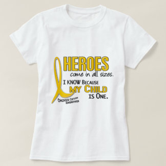 Heroes All Sizes 1 Child CHILDHOOD CANCER Shirts