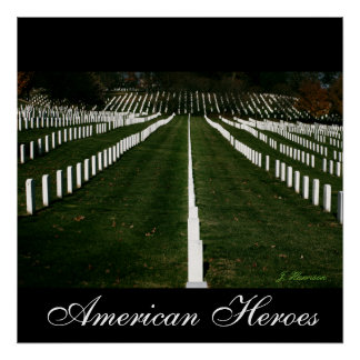 Héroes americanos impresiones