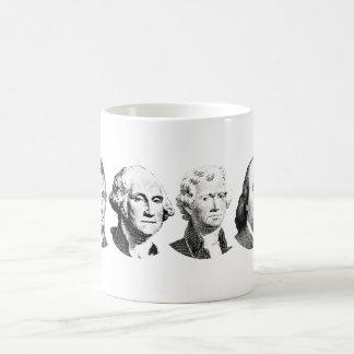 Héroes americanos taza de café