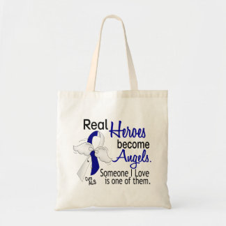 Heroes Become Angels ALS Tote Bag