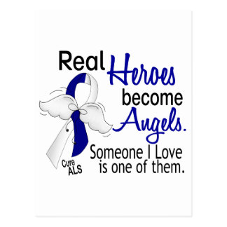 Heroes Become Angels ALS Postcard