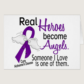 Heroes Become Angels Alzheimer's Disease Card