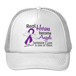 Heroes Become Angels Alzheimer's Disease Mesh Hats