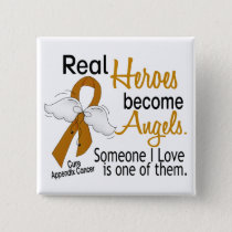 Heroes Become Angels Appendix Cancer Button