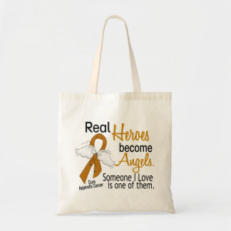 Heroes Become Angels Appendix Cancer Tote Bag