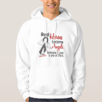 Heroes Become Angels Brain Tumor Hoodie