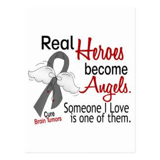 Heroes Become Angels Brain Tumor Postcard