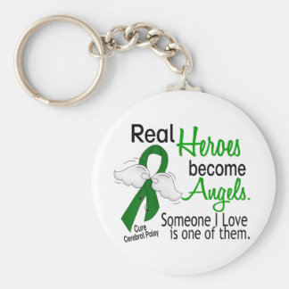 Heroes Become Angels Cerebral Palsy Keychains
