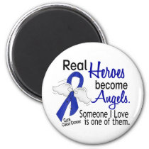 Heroes Become Angels Colon Cancer Magnet
