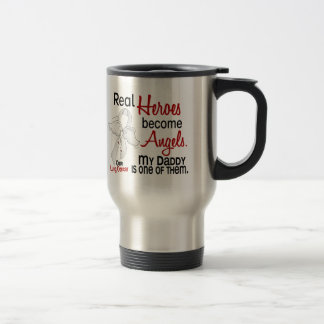 Heroes Become Angels Daddy Lung Cancer Mugs