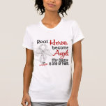 Heroes Become Angels Daddy Lung Cancer Tshirts