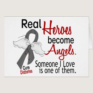 Heroes Become Angels Diabetes Card