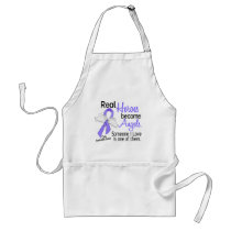 Heroes Become Angels Esophageal Cancer Adult Apron