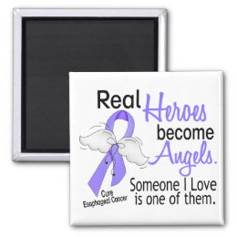 Heroes Become Angels Esophageal Cancer Magnet