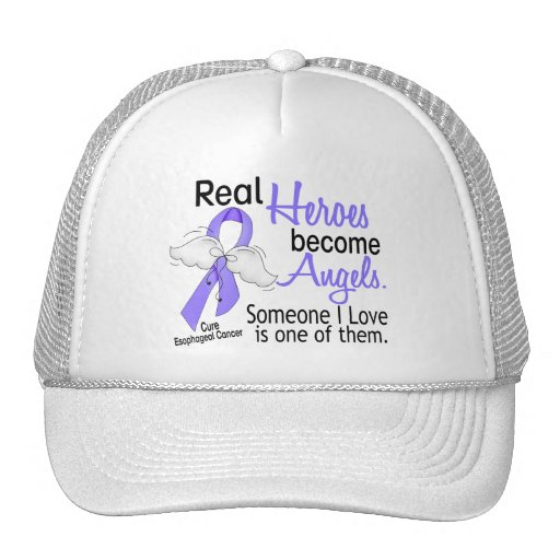 Heroes Become Angels Esophageal Cancer Trucker Hat
