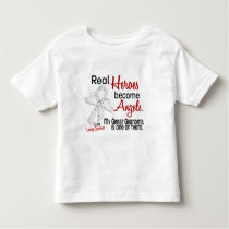 Heroes Become Angels Great Grandma Lung Cancer Toddler T-shirt