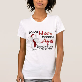 Heroes Become Angels Head And Neck Cancer T-Shirt