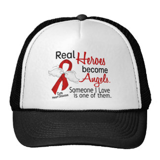 Heroes Become Angels Heart Disease Hats