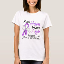 Heroes Become Angels Hodgkins Lymphoma T-Shirt