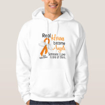 Heroes Become Angels Kidney Cancer Hoodie