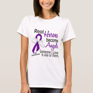 Heroes Become Angels Leiomyosarcoma T-Shirt