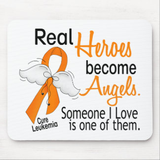 Heroes Become Angels Leukemia Mouse Pad