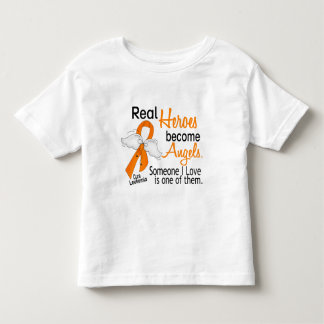 Heroes Become Angels Leukemia Toddler T-shirt
